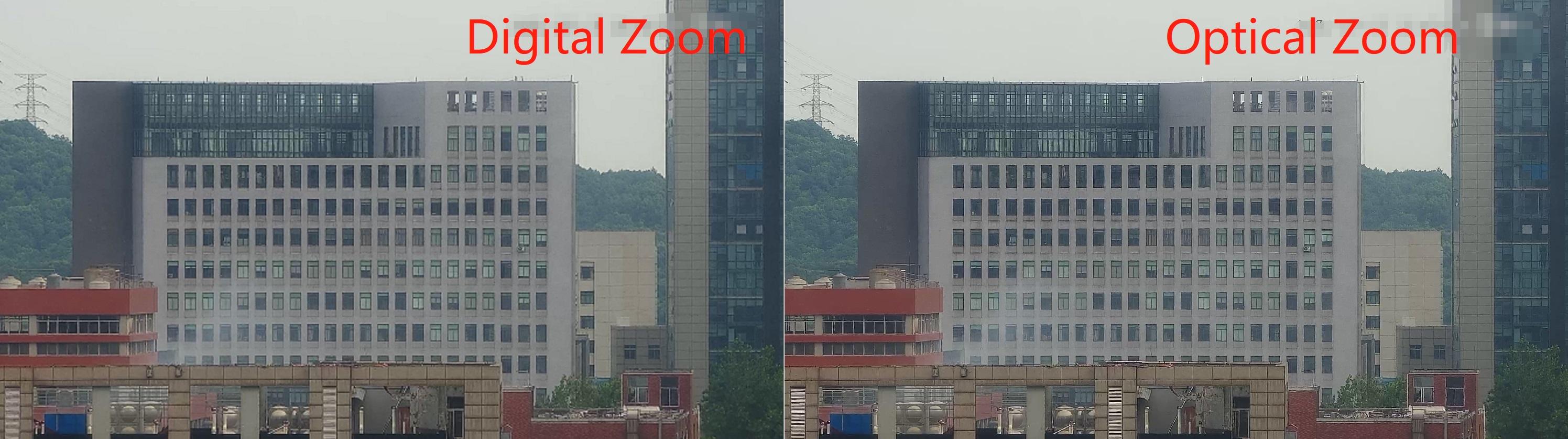 optical digtial zoom